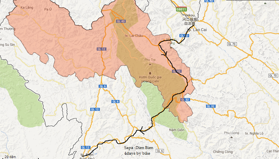 New cycling route from Sapa to Dien Bien Phu 4days