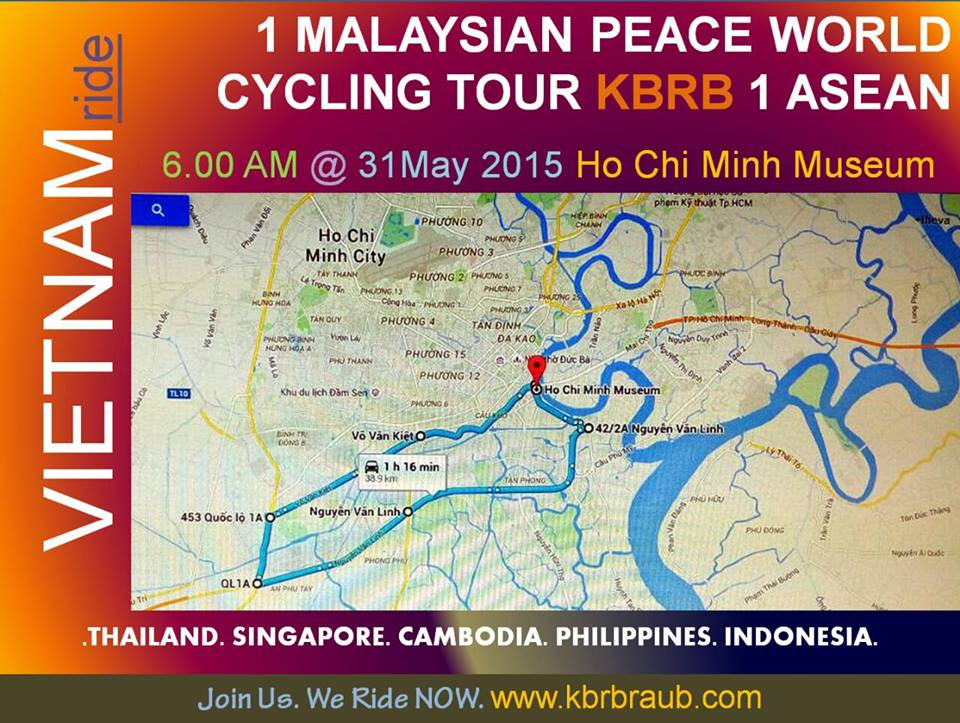 malaysian peace world cycling tour