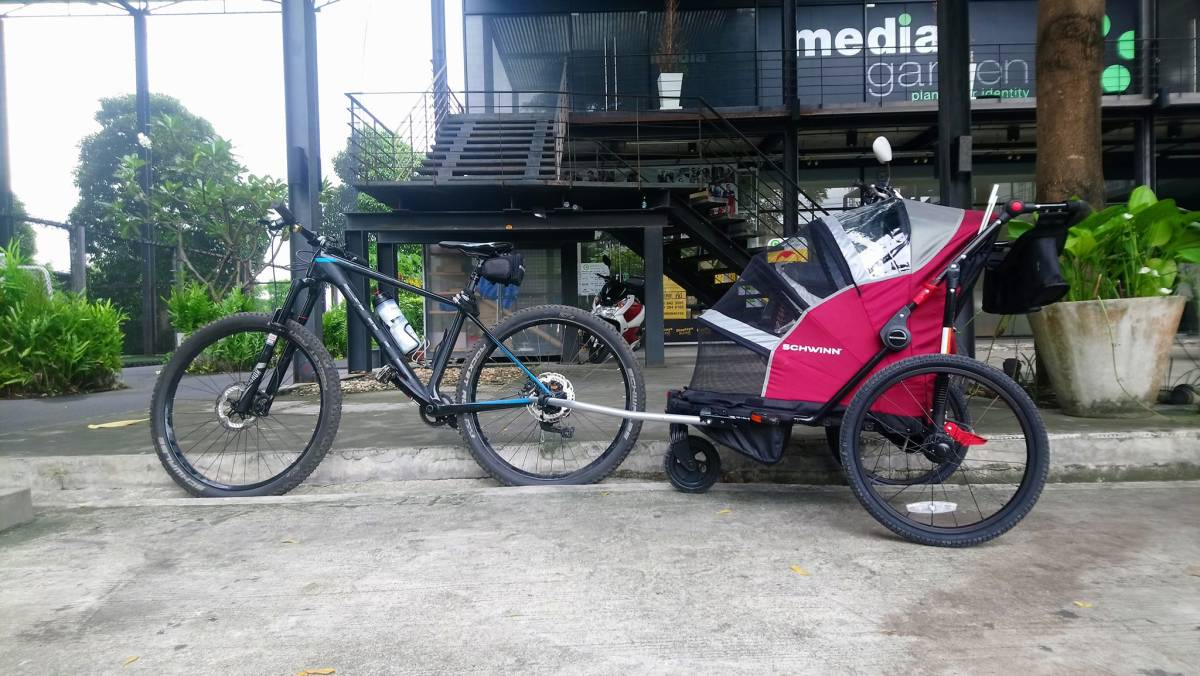 Bike trailer Bangkok